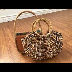 Summer bag / rattan bag / straw bag